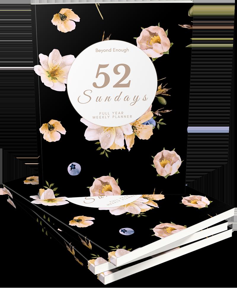 52 Sundays Weekly Planner