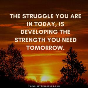 Love Yourself Through The Struggle