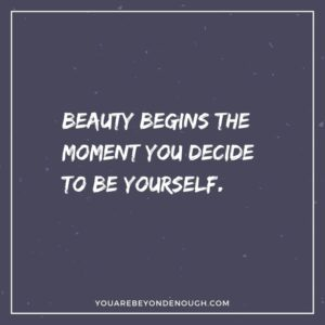 Recognize Your Beauty