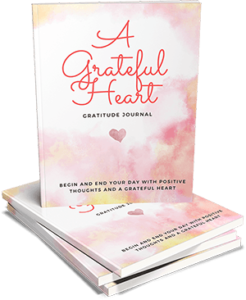 A Grateful Heart Gratitude Journal