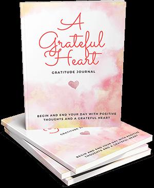 A Grateful Heart Gratitude Journal