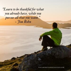Jim Rohn Gratitude Quotes