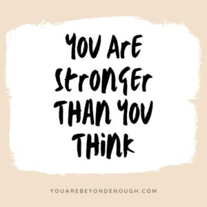 Overcome Self-Doubt - You Are Strong
