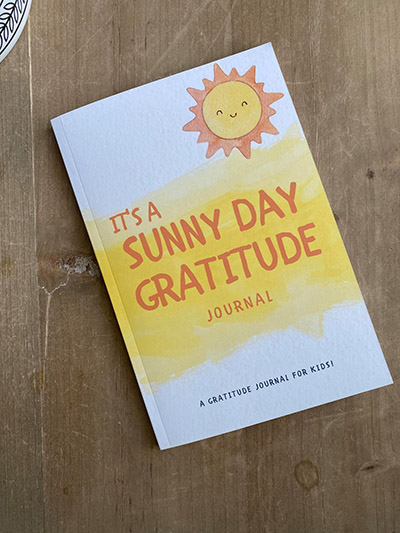 Sunny Day Gratitude Journal Front