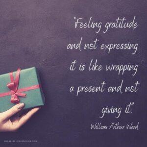 William Ward Gratitude Quote
