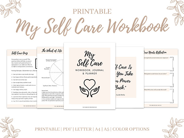 Self Care Workbook Insert 1
