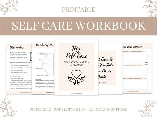 Self-Care Workbook Product Image