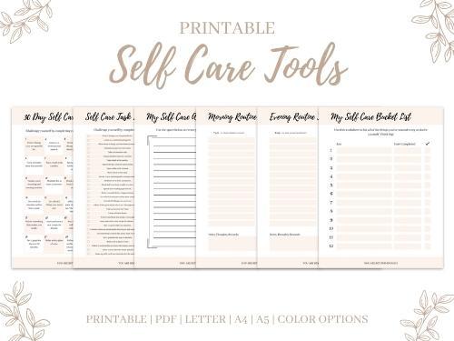 Self Care Workbook Tools