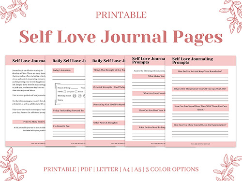 Self Love Workbook Insert 02
