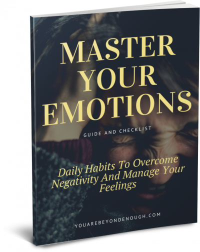 Mastering Your Emotions Checklist